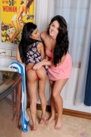 Sydnee Taylor & Alison Tyler in lesbian gallery from ATKPETITES - #8