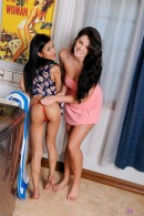 Sydnee Taylor & Alison Tyler in lesbian gallery from ATKPETITES - #9