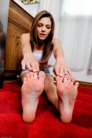 Kiera Winters in footfetish gallery from ATKPETITES - #11