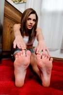 Kiera Winters in footfetish gallery from ATKPETITES - #12