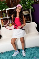 Trinity St Clair in masturbation gallery from ATKPETITES - #8