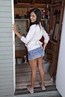 Elena Nichols in upskirts and panties gallery from ATKPETITES - #1