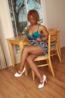 Vixen Fyre in black women gallery from ATKPETITES - #9