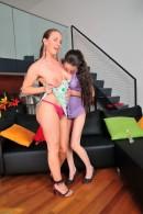 Jennifer & Eden in hairy lesbians gallery from ATKPETITES - #9