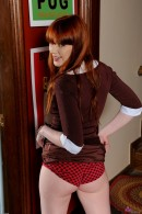 Marie McCray in upskirts and panties gallery from ATKPETITES - #10