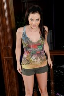 Brandi Belle in footfetish gallery from ATKPETITES - #8