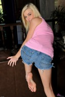Lacey Leveah in foot job gallery from ATKPETITES - #8