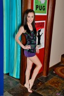 Katie Marie in footfetish gallery from ATKPETITES - #1
