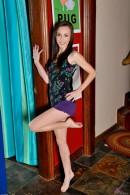 Katie Marie in footfetish gallery from ATKPETITES - #9