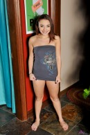 Khloe Kush in upskirts and panties gallery from ATKPETITES - #1