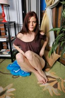 Angelina Black in masturbation gallery from ATKPETITES - #2