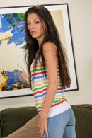 Alexis Venton in upskirts and panties gallery from ATKPETITES - #8