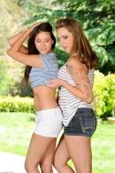 Shyla Jennings & Bailey Blue in lesbian gallery from ATKPETITES - #10