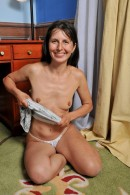 Oksana in mature and hairy gallery from ATKPETITES - #15