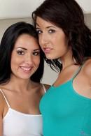 Lola Foxx & Missi Daniels in lesbian gallery from ATKPETITES - #1