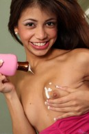 Veronica Rodriguez in masturbation gallery from ATKPETITES - #4