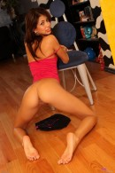 Veronica Rodriguez in upskirts and panties gallery from ATKPETITES - #12