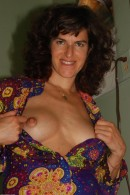 Cara in mature and hairy gallery from ATKPETITES - #1