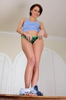 Kelly Klass in upskirts and panties gallery from ATKPETITES - #10