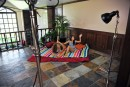 Shyla Jennings & Bailey Blue in behind the scenes gallery from ATKPETITES - #11