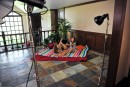 Shyla Jennings & Bailey Blue in behind the scenes gallery from ATKPETITES - #12