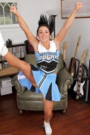 Lola Foxx in upskirts and panties gallery from ATKPETITES - #9