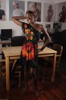 Maya in black women gallery from ATKPETITES - #1