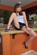Risi Simms in upskirts and panties gallery from ATKPETITES - #10