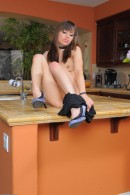 Risi Simms in upskirts and panties gallery from ATKPETITES - #3
