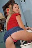 Chelsea Lesley in upskirts and panties gallery from ATKPETITES - #10