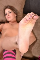 Jenna Rose in footfetish gallery from ATKPETITES - #10