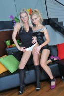 Niky & Cindy in lesbian gallery from ATKPETITES - #1