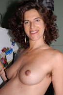 Cara in mature and hairy gallery from ATKPETITES - #3