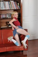Amy Quinn in upskirts and panties gallery from ATKPETITES - #8