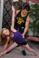 Amy Quinn in foot job gallery from ATKPETITES - #1