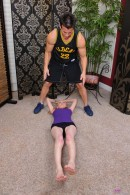 Amy Quinn in foot job gallery from ATKPETITES - #8