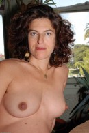 Cara in mature and hairy gallery from ATKPETITES - #15