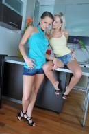 Kari & Niky in footfetish gallery from ATKPETITES - #1