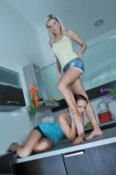 Kari & Niky in footfetish gallery from ATKPETITES - #10