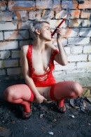 Ferggy in Red Hot 1 gallery from THELIFEEROTIC by Higinio Domingo - #14