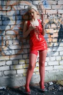 Ferggy in Red Hot 1 gallery from THELIFEEROTIC by Higinio Domingo - #2