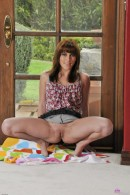 Sabrina Starr in upskirts and panties gallery from ATKPETITES - #9