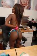 Leah in black women gallery from ATKPETITES - #14