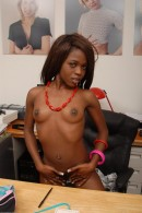 Leah in black women gallery from ATKPETITES - #5