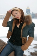 Vika in Postcard From St. Petersburg gallery from MPLSTUDIOS by Alexander Fedorov - #17