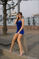 Julia in Blue Velvet gallery from MPLSTUDIOS by Alexander Fedorov - #1
