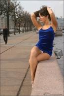 Julia in Blue Velvet gallery from MPLSTUDIOS by Alexander Fedorov - #12