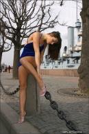 Julia in Blue Velvet gallery from MPLSTUDIOS by Alexander Fedorov - #2