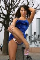 Julia in Blue Velvet gallery from MPLSTUDIOS by Alexander Fedorov - #4