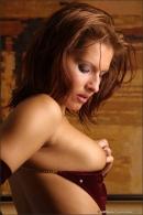 Karina in Red Velvet gallery from MPLSTUDIOS by Alexander Fedorov - #15